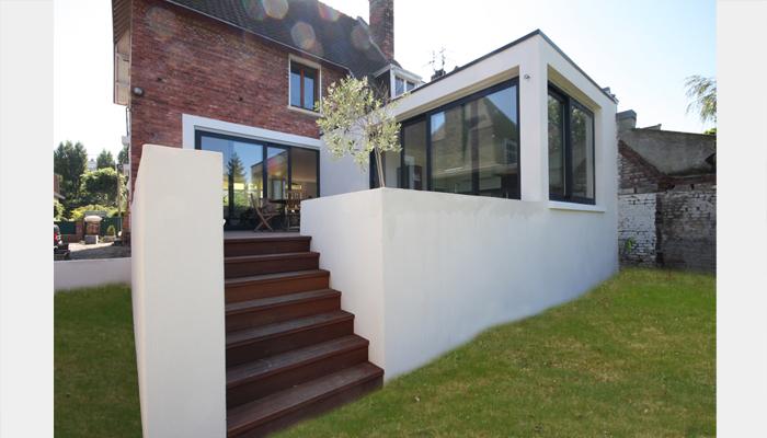 Transformation rocco abm architectes for Architecte extension maison 92